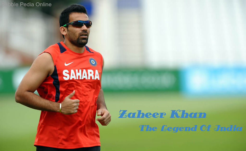 Zaheer Khan… the great Indian Fast bowler… retired from International Cricket